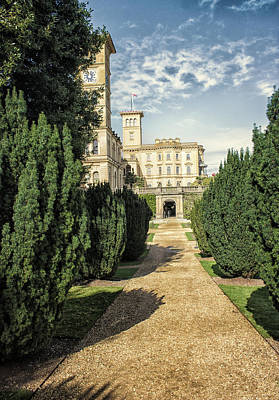 Royal Ladies Photograph - Osborne House by Martin Newman