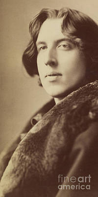 Oscar Wilde, 1882 Art Print