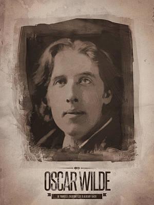 Oscar Wilde Digital Art - Oscar Wilde 01 by Afterdarkness