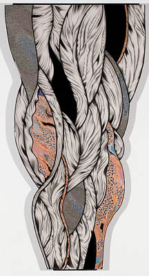 Mixed Media - Oscillations by Karen Robey