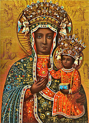 Our Lady Of Czestochowa Black Madonna Poland Art Print