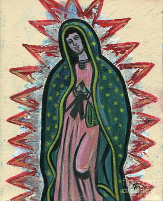 Our Lady Of Guadalupe Original by Danielle Tayabas