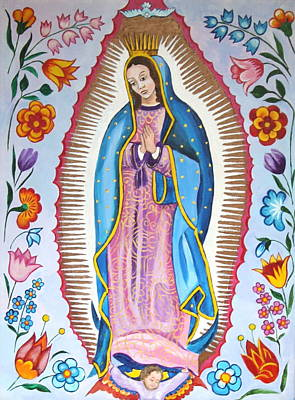 Our Lady Of Guadalupe Original by Jan Mecklenburg