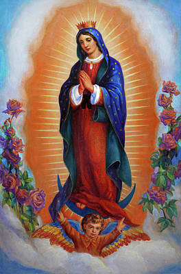 Our Lady Of Guadalupe - Virgen De Guadalupe Art Print