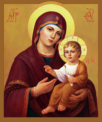 Our Lady Of The Way - Virgin Hodegetria Art Print