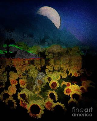 Digital Art - Out Of Darkness by Edmund Nagele