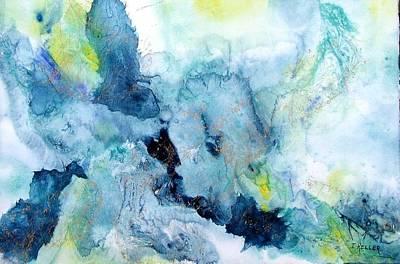 Out Of The Depths Art Print by John Keller