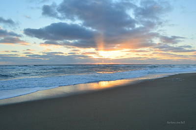 Photograph - Outer Banks Sunrise  by Barbara Ann Bell