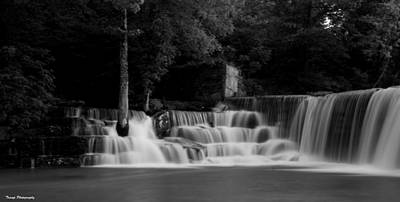 Photograph - Over The Falls by Wesley Nesbitt