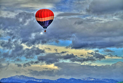 Photograph - Over The Rockies by Scott Mahon