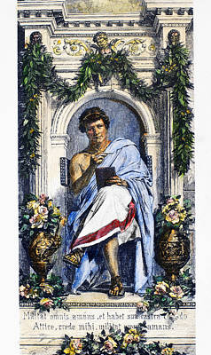1st Century B.c Photograph - Ovid (43 B.c.-c17 A.d.) by Granger
