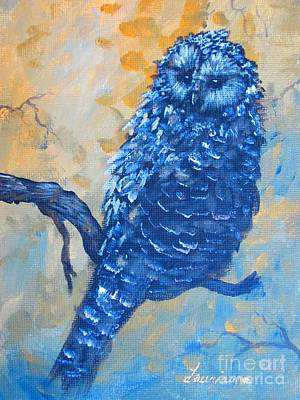 Painting - owl by Laurianna Taylor