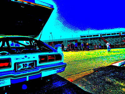 Photograph - Oxford Car Show II 13 by George Ramos