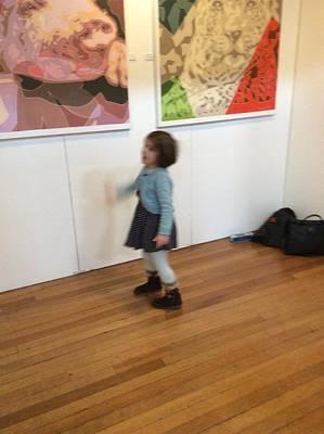 Painting - Oxford International Art Fair 2015 by Varvara Stylidou