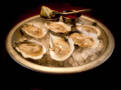 Photograph - Oysters On The Half Shell by David Kay