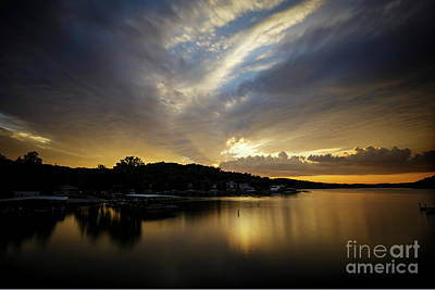 Photograph - Ozark Sunrise by Dennis Hedberg
