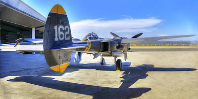 Photograph - P-38 by Joe  Palermo