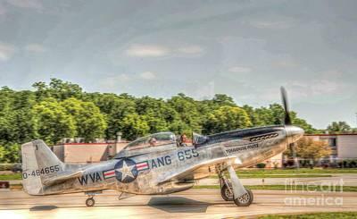 Photograph - P - 51 Mustang by David Bearden