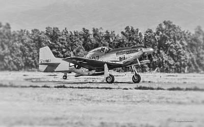 Photograph - P-51d Mustang by Douglas Castleman