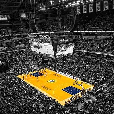 Sports Photograph - #pacers #pacersgamenight #pacersvsspurs by David Haskett