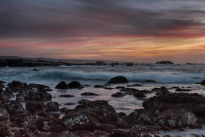 Pacific Grove Photograph - Pacific Grove Sunset by Bill Roberts