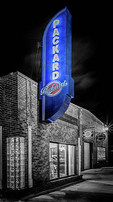Photograph - Packard Sign #2 by Susan Rissi Tregoning