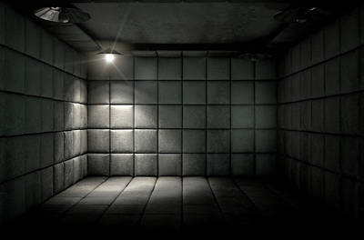 Padded Cell Dirty Spotlight Art Print