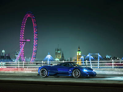 Photograph - Pagani Zonda Md by George Williams