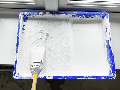 Paint Brush Art Print