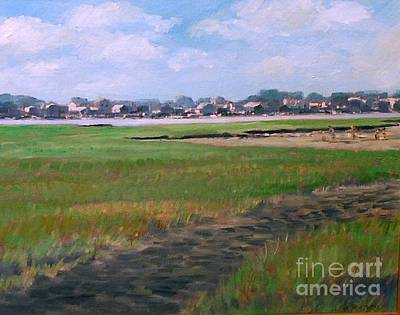 Painting - New England Shore by Perrys Fine Art