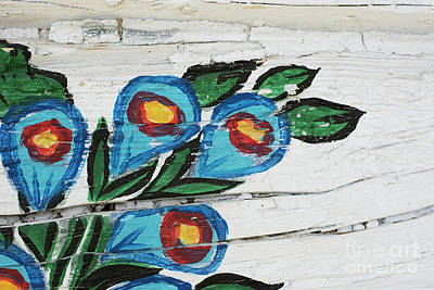 Photograph - Painted Flowers by Juli Scalzi