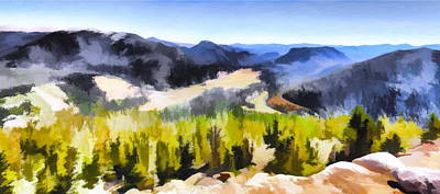 Photograph - Painted Rockies by Christopher Wieck