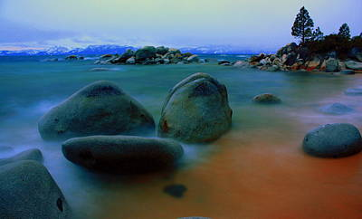Blured Photograph - Painted Tahoe by David Frissyn