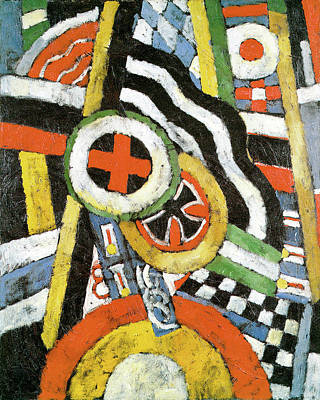 Photograph - Painting Number 5 by Marsden Hartley