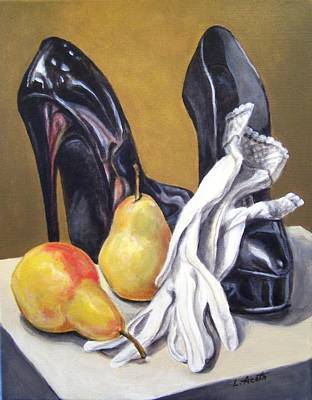 Art Print featuring the painting Pairs by Laura Aceto