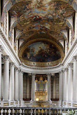 Photograph - Palace At Versailles by Stan and Anne Foster