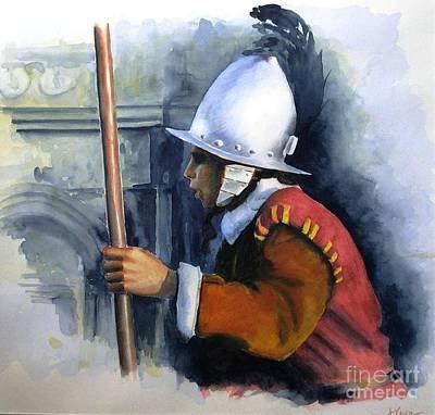 Palace Guard Art Print