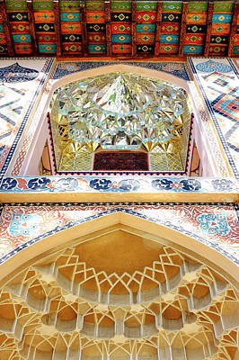 Photograph - Detail Of The Palace Of Sheki Khans by Fabrizio Troiani