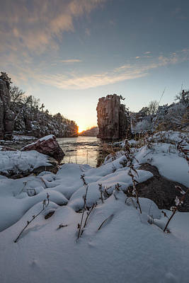 Photograph -  Palisades First Snow by Aaron J Groen