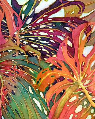 Painting - Palm Patterns 1 by Deborah Younglao