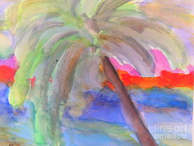 Painting - Palm Tree by France Laliberte