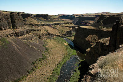 Photograph - Palouse Falls State Park by Cindy Murphy - NightVisions