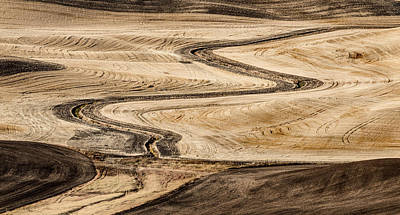 Travel - Palouse Fields 2688 by Bob Neiman