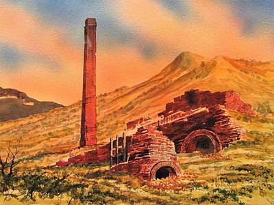 Panamint City Ghost Town California Art Print by Kevin Heaney