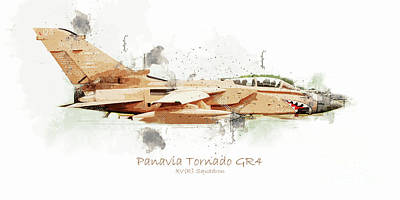 Travel Rights Managed Images - Panavia Tornado GR4 Royalty-Free Image by Airpower Art
