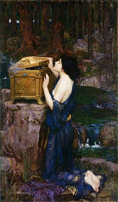 Painting -  Pandora by John William Waterhouse