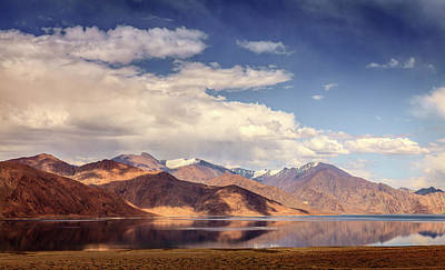 Photograph - Pangong Tso Lake by Alexey Stiop