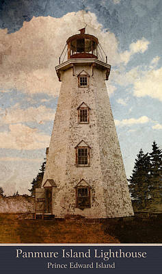 Photograph - Panmure Island Lighthouse by WB Johnston