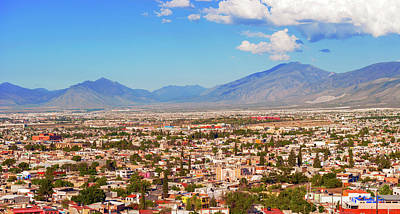 Photograph - Panorama Of The City Of Saltillo In Mexico. by Marek Poplawski