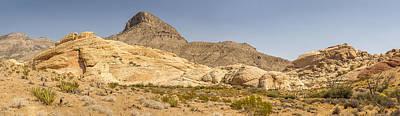 Panoramic At Red Rock Canyon National Conservation Area Original
